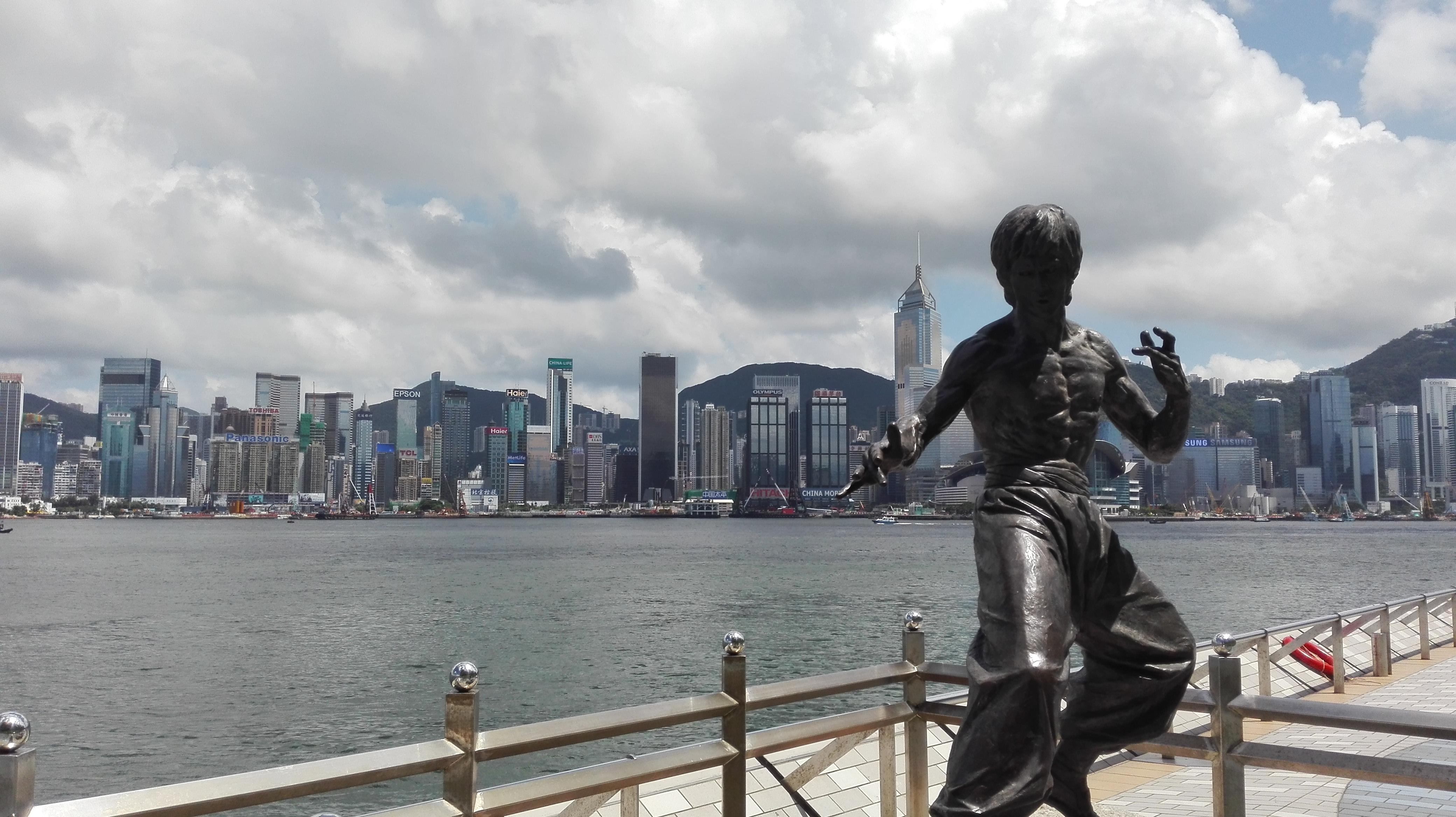 Hong Kong in 3 days - Bruce Lee